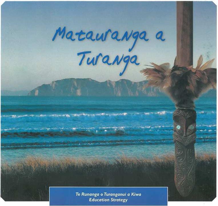 Matauranga A Turanga / Educational Plan